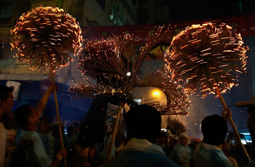 праздник осени в Гонконге, фото