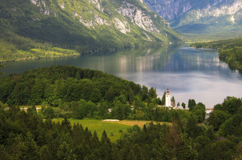 Бохинь озеро