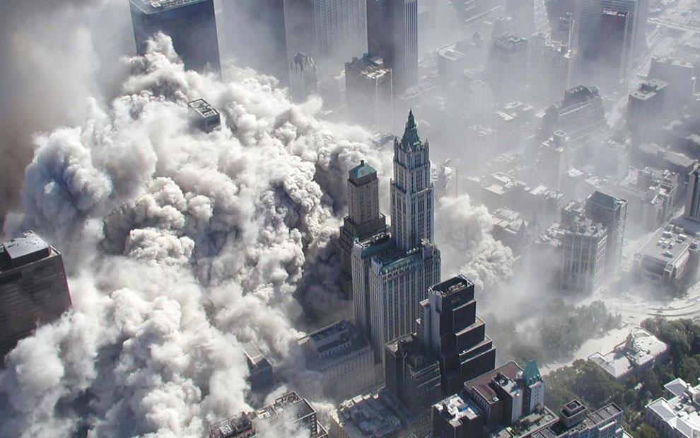 падающие башни-близнецы, 11 сентября 2001 года, США