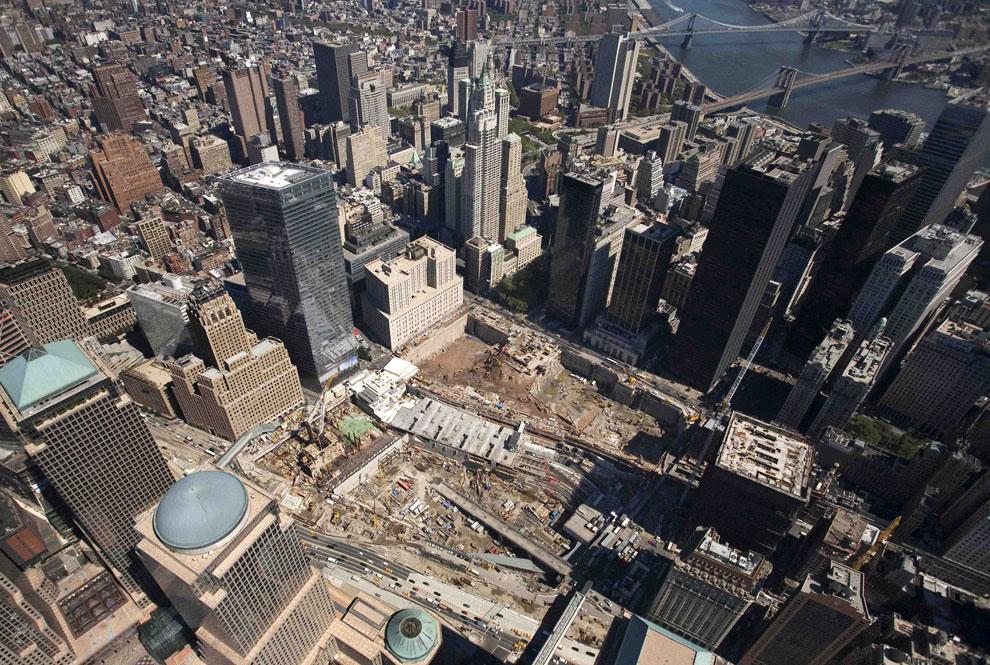 баш-близнецы семь лет спустя, 11 сентября 2001 года, США, фото