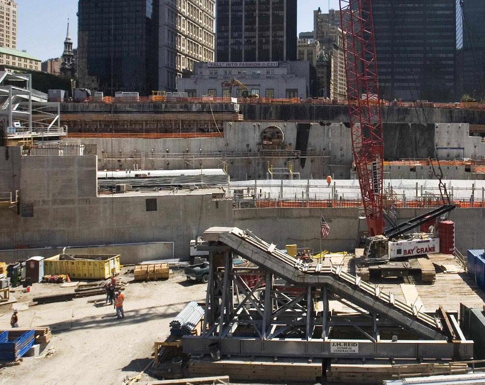 национальный мемориал музей, 11 сентября 2001 года, США, фото