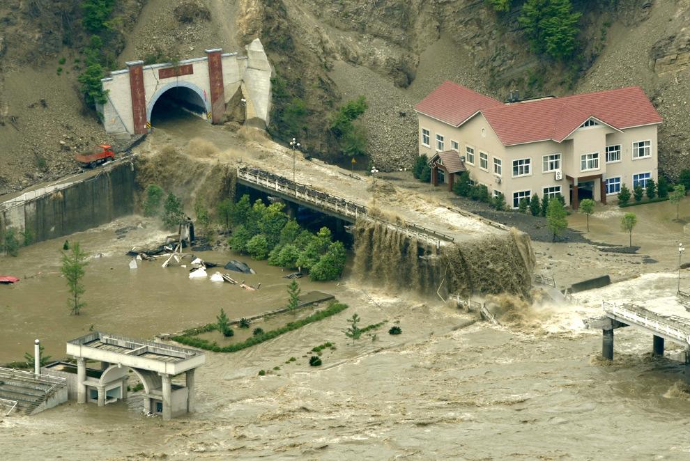 разрушения от наводнения, Китай