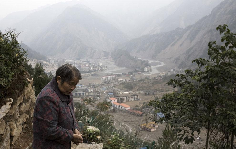 Бэйчуань спустя шесть месяцев после землетрясения, Китай фото