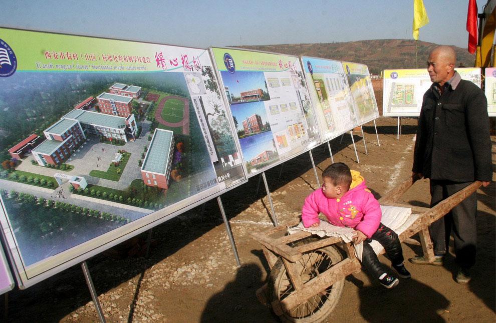 фото новых школ, Китай