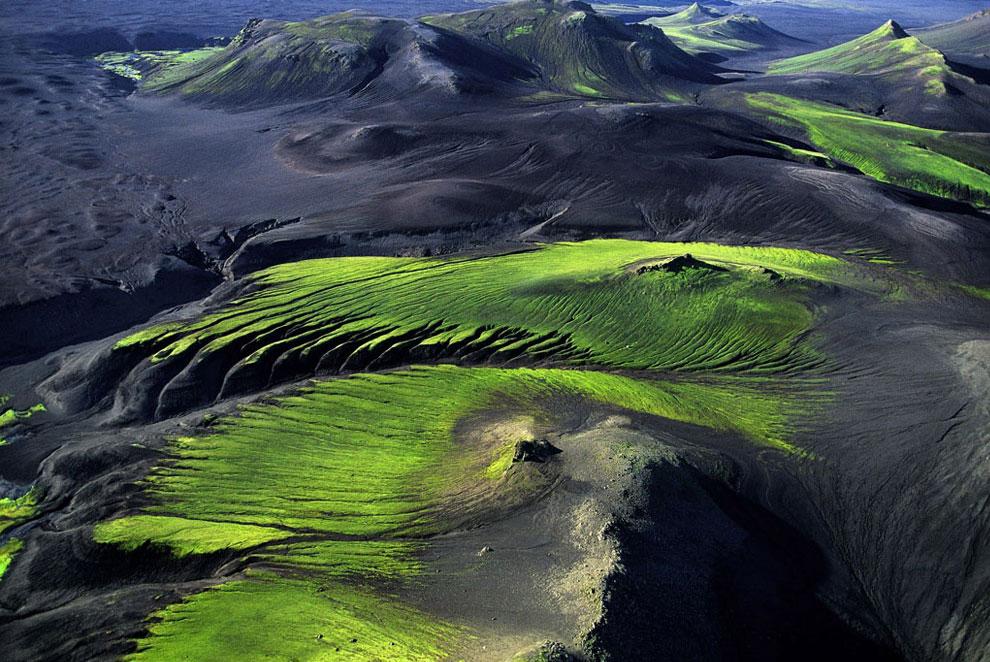 Горная местность Исландии, фото