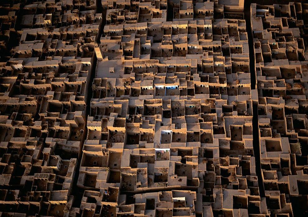 Деревня в марокканском городе, фото