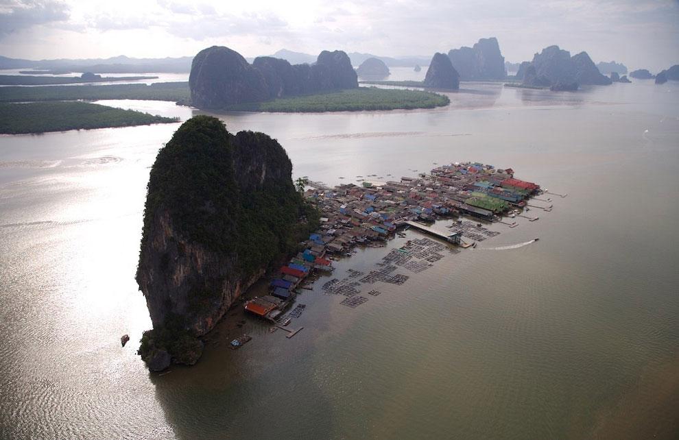 Остров Кх Панны в заливе Пханг Нга Бей, Таиланд, фото