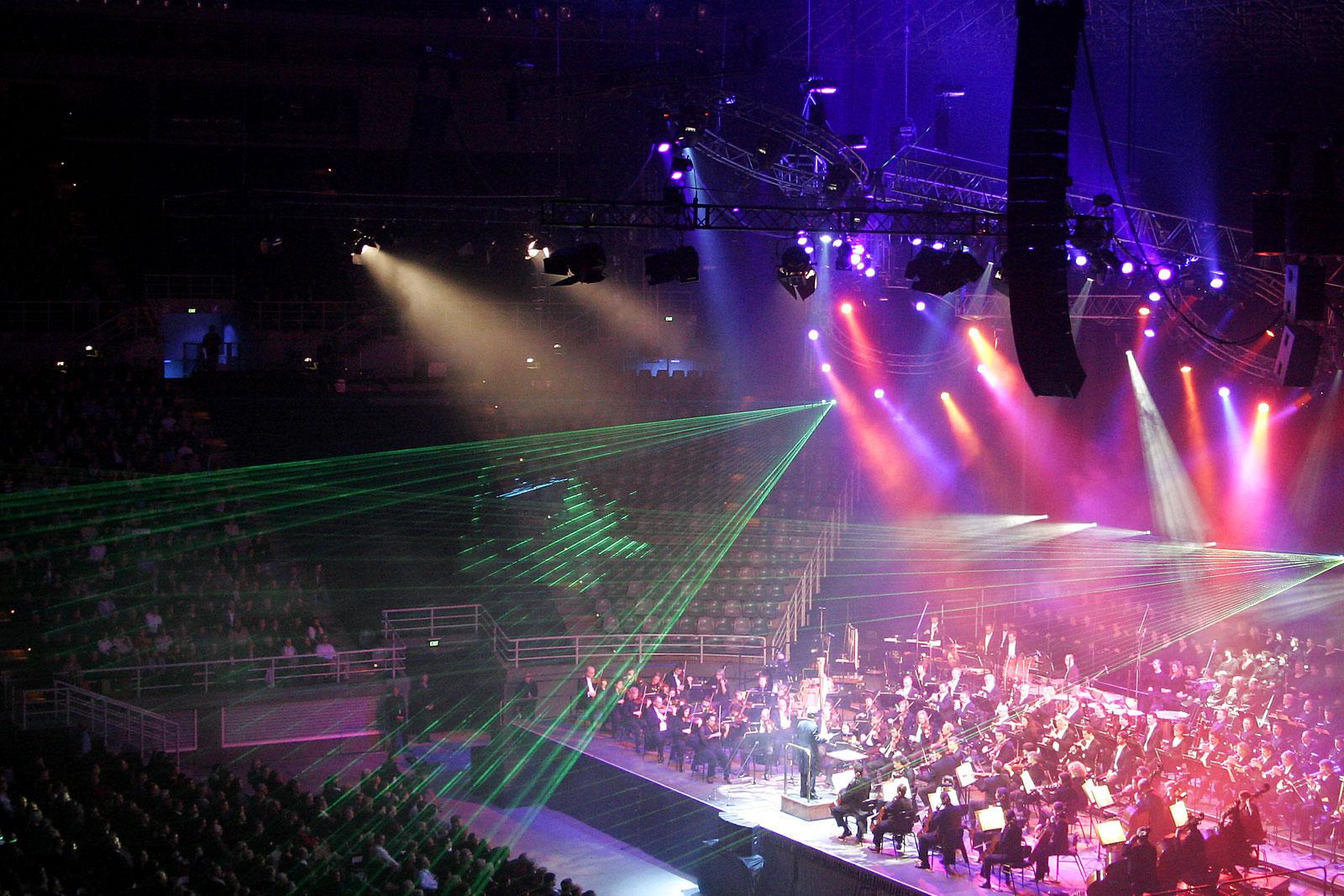 концертное световое оборудование