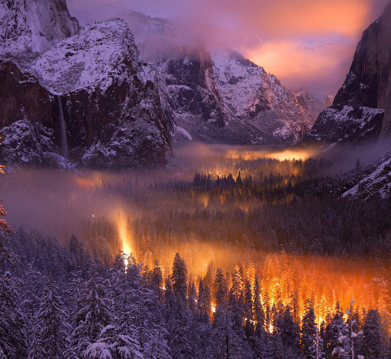 Долина Йосемити, фото Нешенел Географик