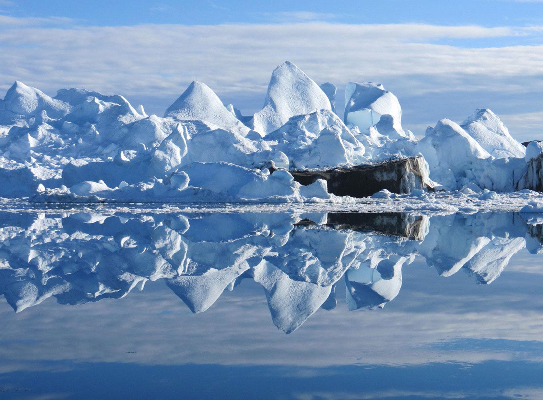фотография айсберга