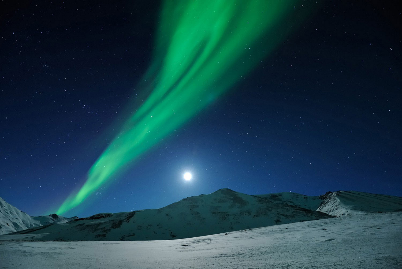 северное сияние на Аляске, Фотоконкурс