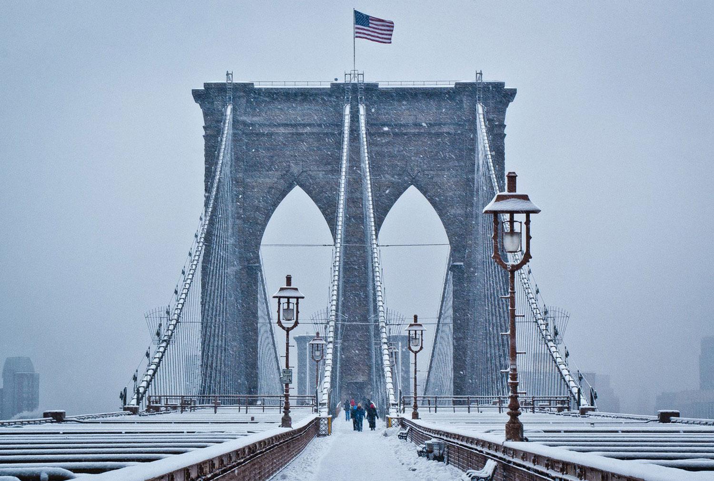 Бруклинский мост, фото
