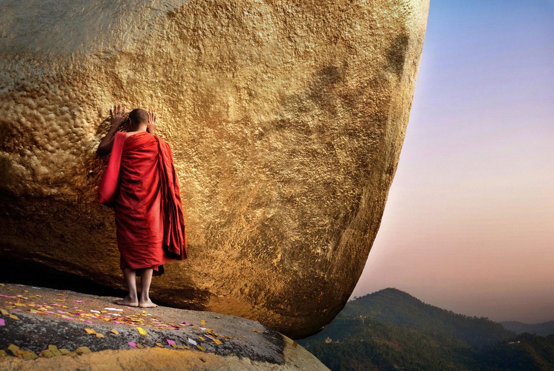 Золотая скала в Мьянме, Фотоконкурс