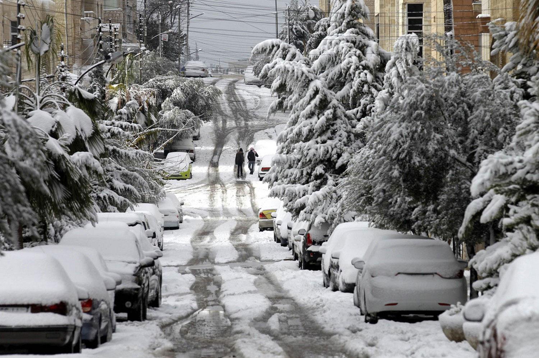 Иорданцы в Аммане, фото