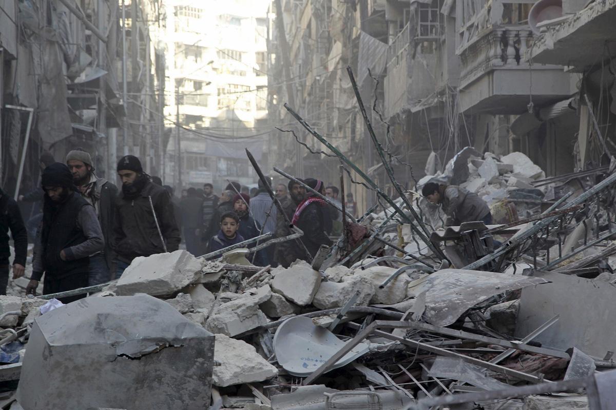 руины Сирии