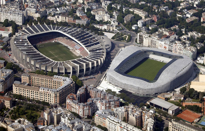 спортивные стадионы во Франции