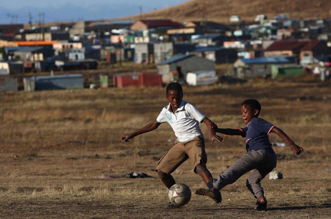 юные футболисты Южной Африки
