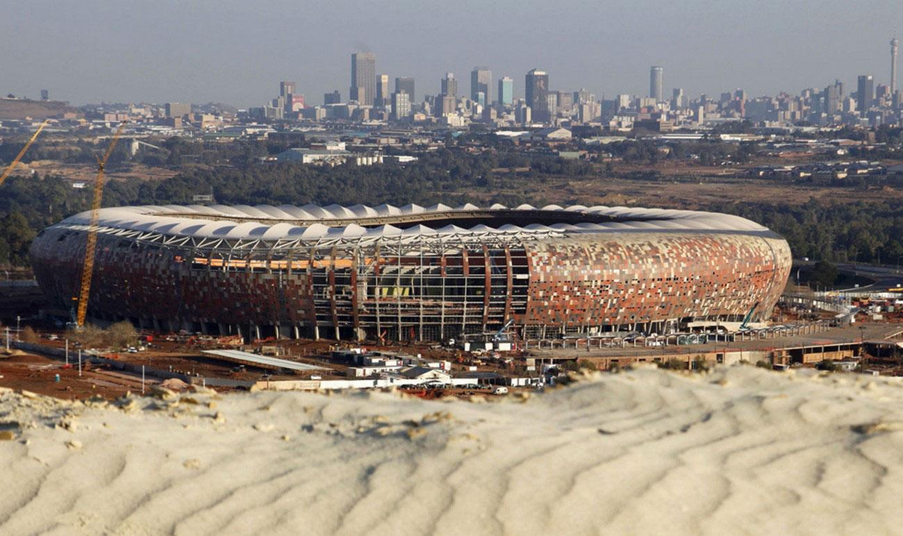 футбольный стадион в Йоханнесбурге, фото ЮАР