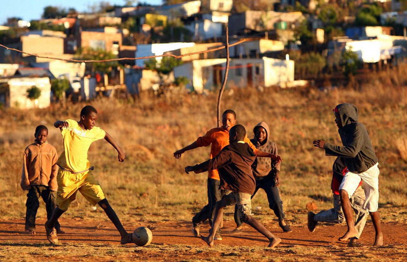 футбольная игра в ЮАР