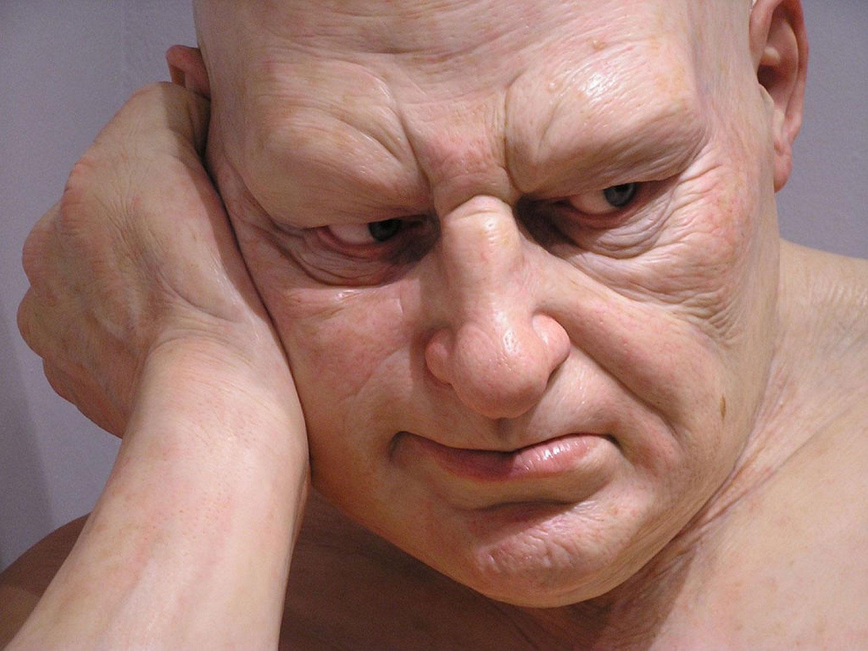 голова восковой фигуры