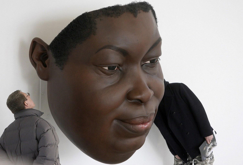 маска негритянки