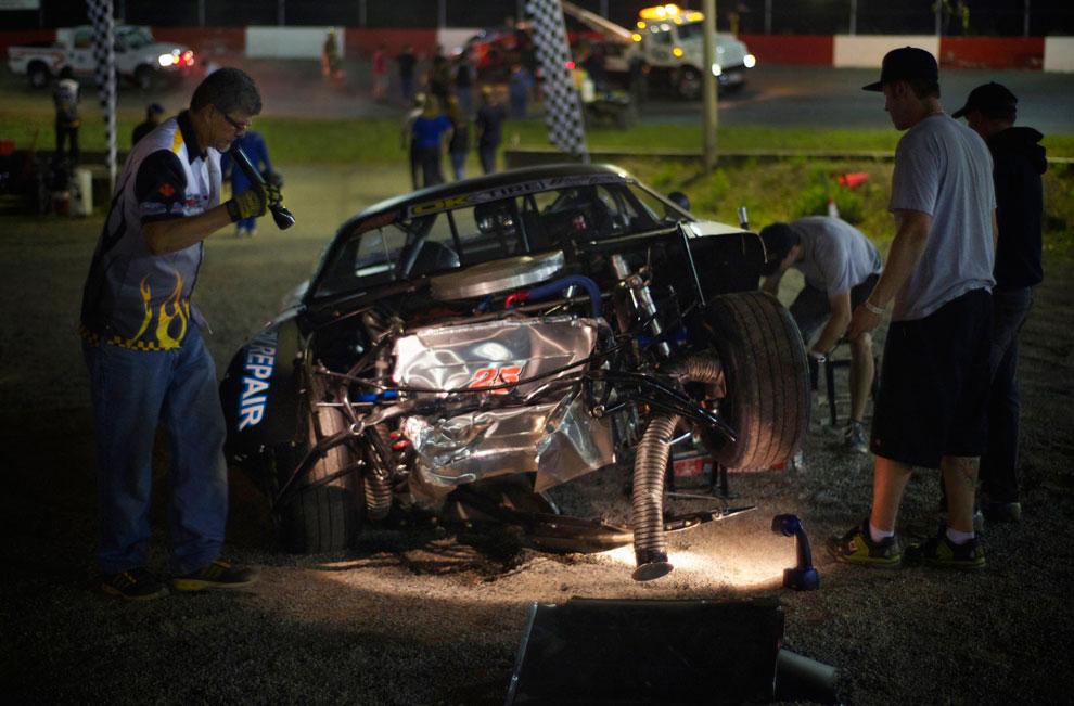 оценка ущерба автомобиля, фото