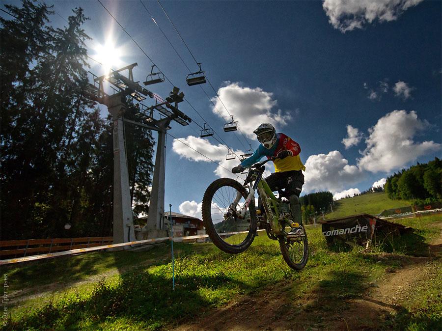 Вело-спорт в Буковеле