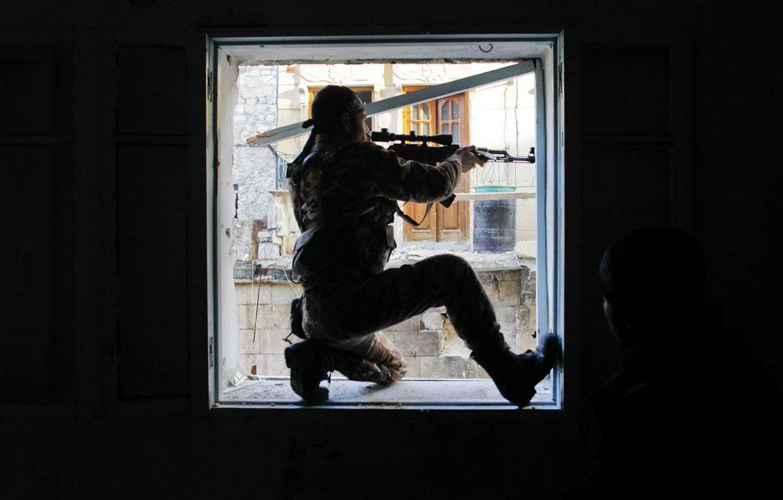член Свободной сирийской армии, фото