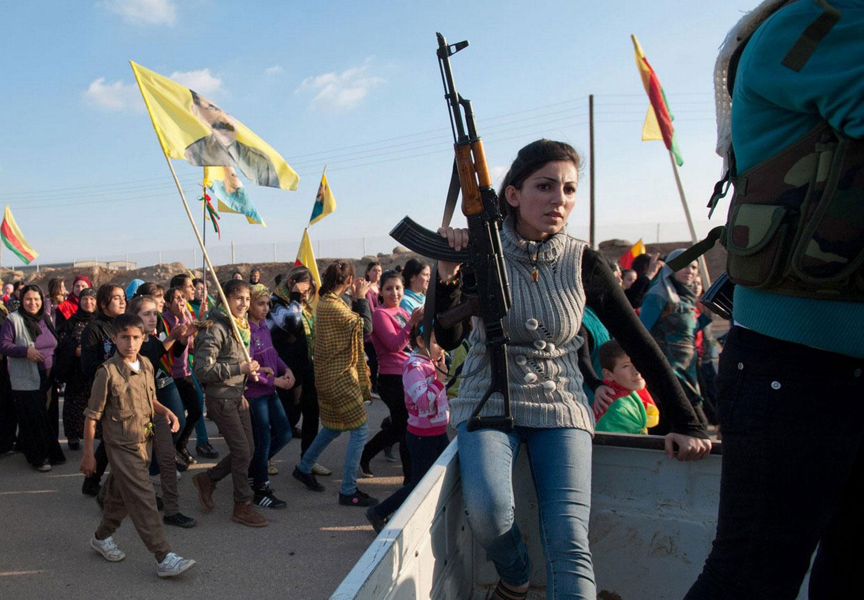 Курдские активисты Сирии, фото
