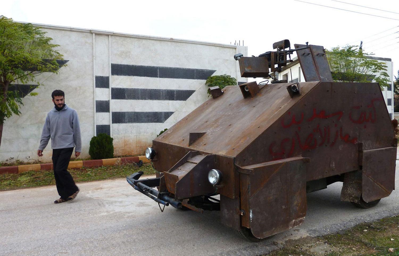 Sham II самодельный бронированный автомобиль Сирии, фото