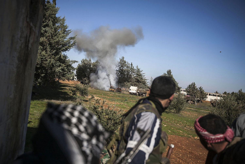 Военные действия в Сирии, фото