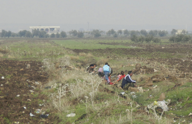 обстрел города армией президента Сирии Башара аль-Асада, фото