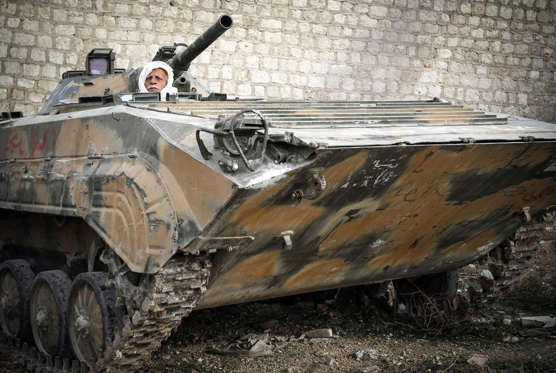 Сирийские повстанцы взяли город Сирии, фото