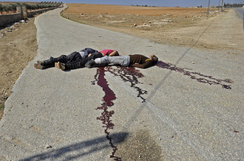 жертвы гражданской войны в Сирии, фото