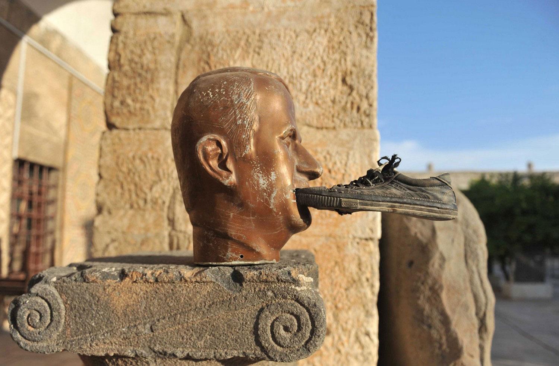 обелиск сирийского президента, фото