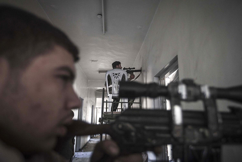 боевики Сирии, фото
