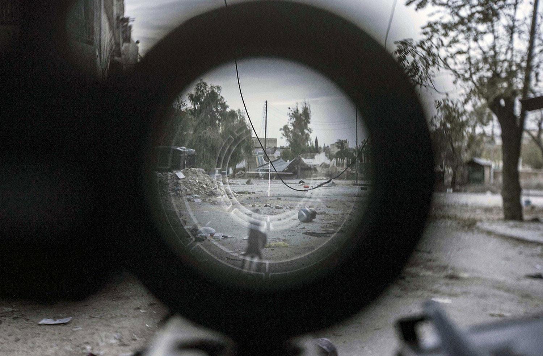 прицел снайпера, фото