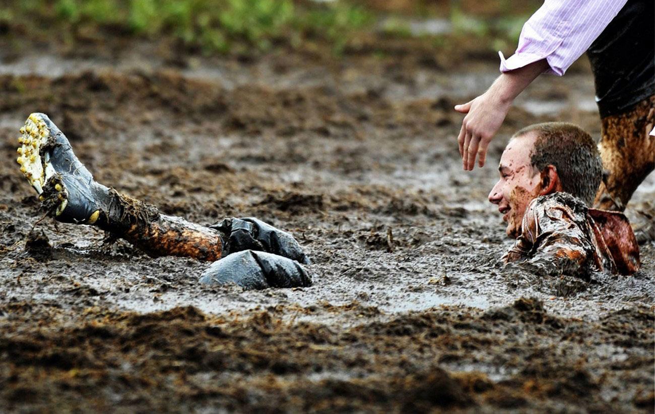 Чемпионат Мира по болотному футболу в грязи, фото