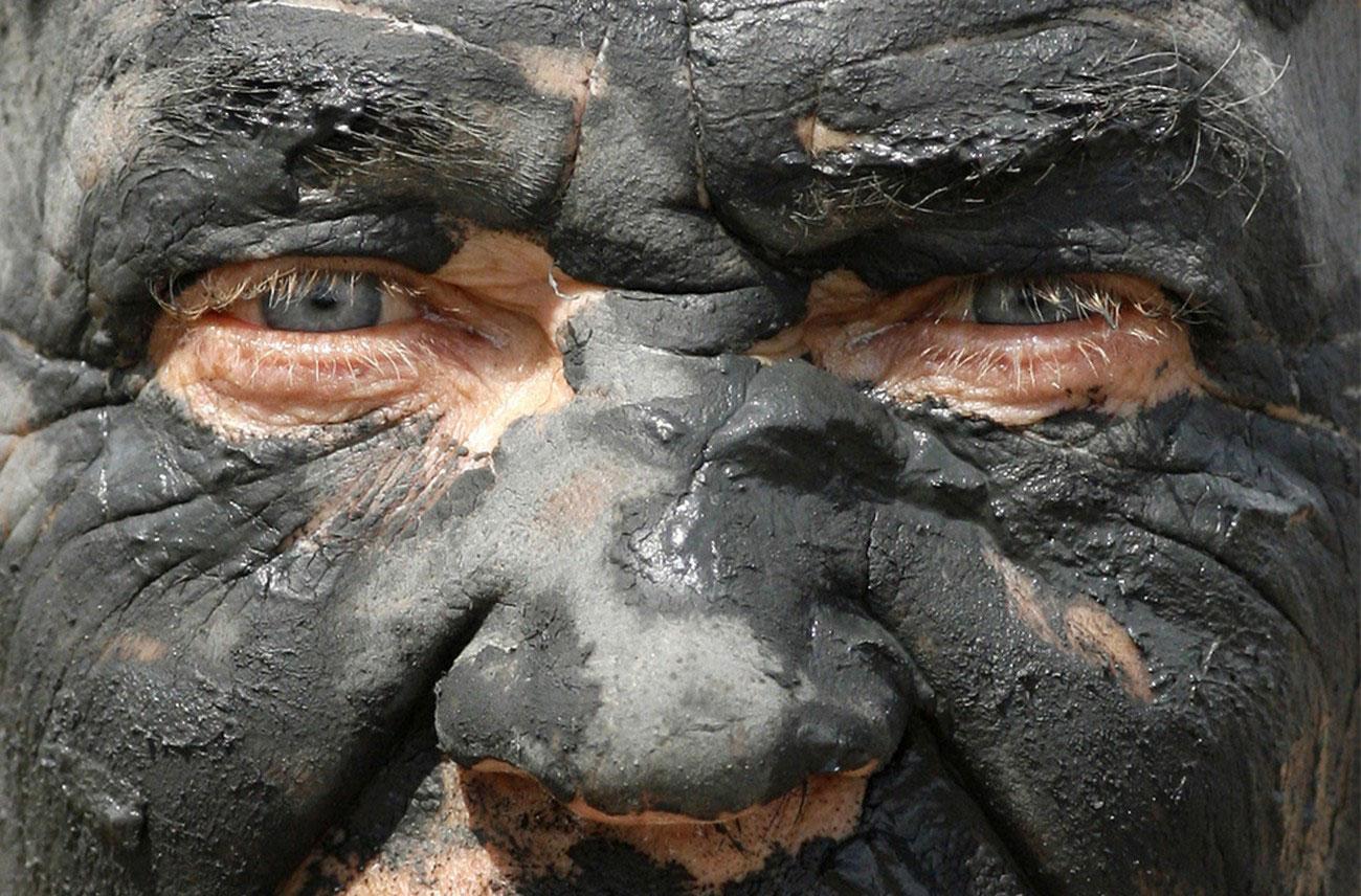 богатая минералами грязь, фото