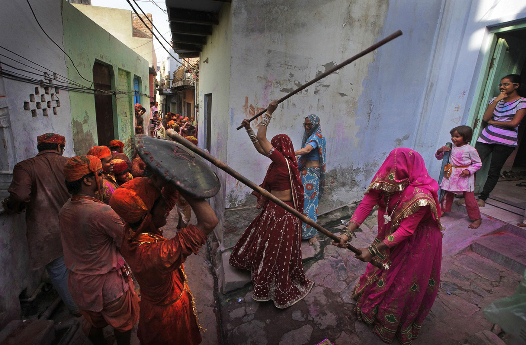 праздник весны в Индии