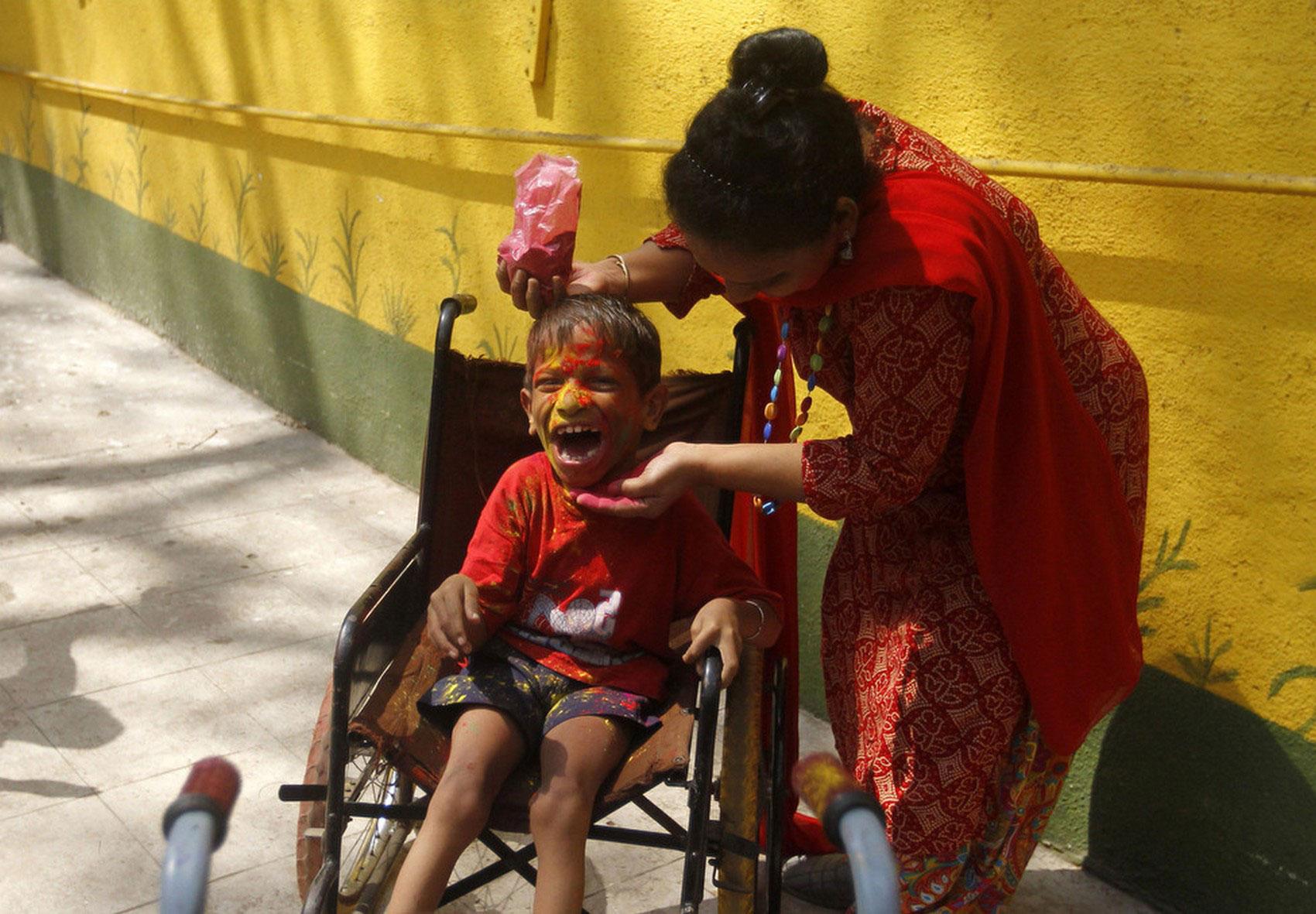 ребенок в Мумбаи