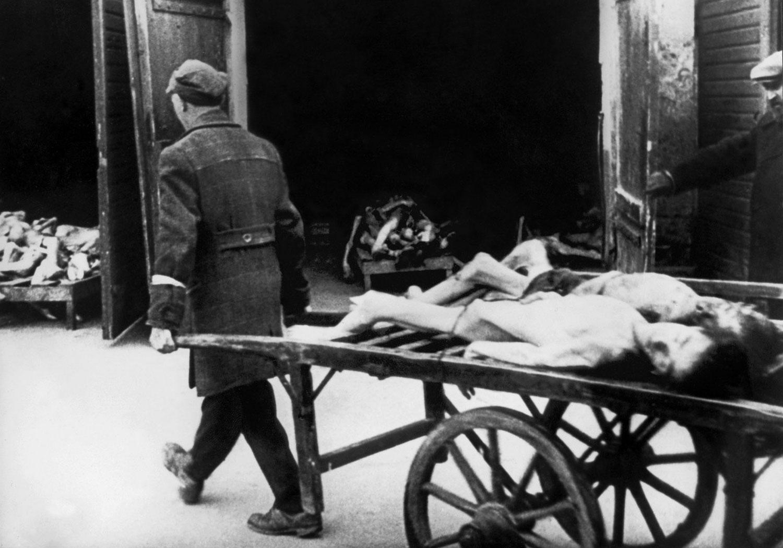 погибшие в Варшавском гетто, фото