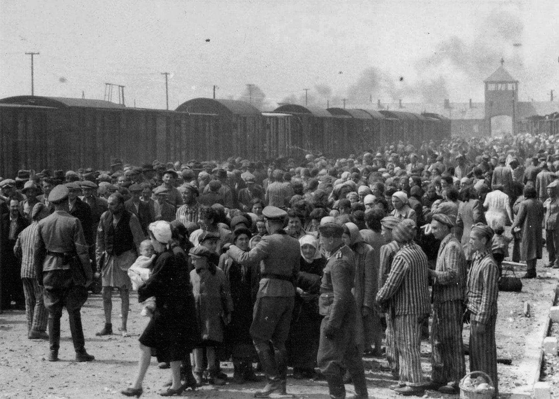 лагерь смерти Аушвиц-2, фото