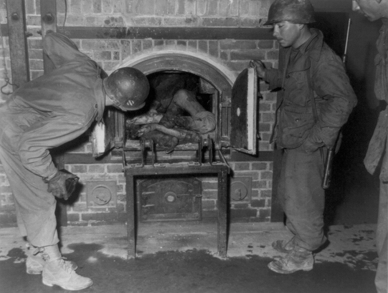 безжизненные тела в печи крематория