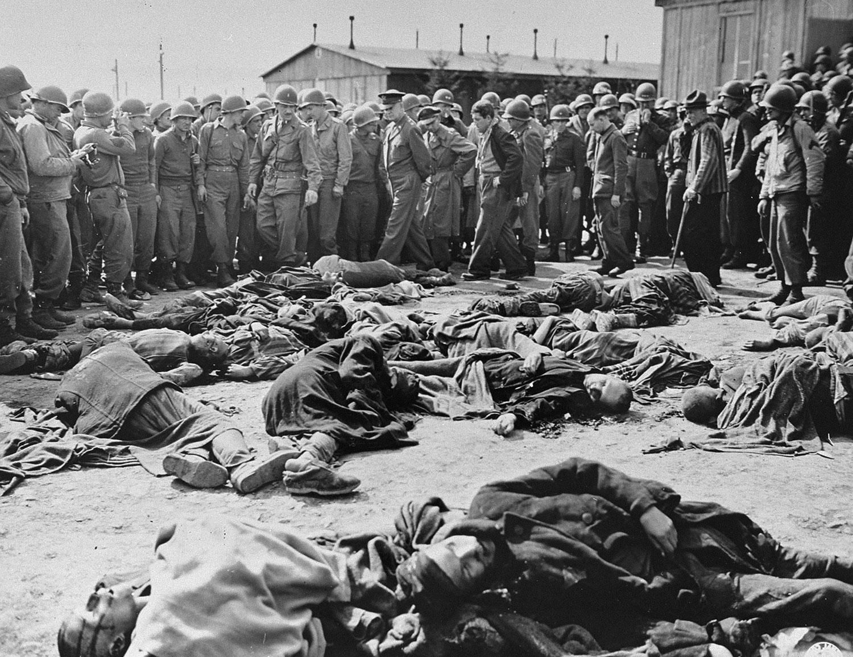 офицеры в концлагере Ордруф