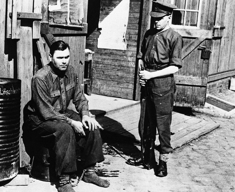 Арест Йозефа Крамера, коменданта концентрационного лагеря