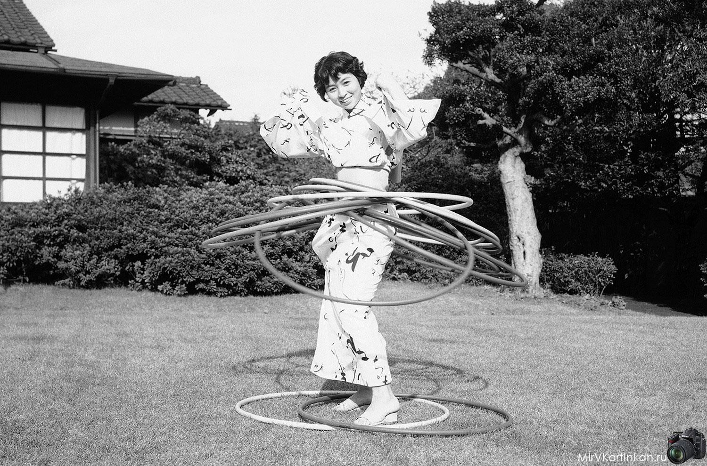 японка в кимоно
