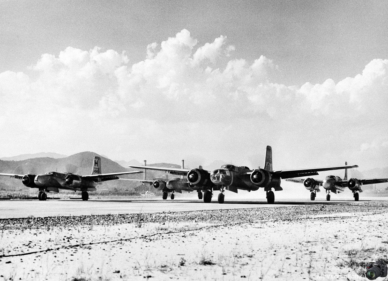 Бомбардировщики B-26
