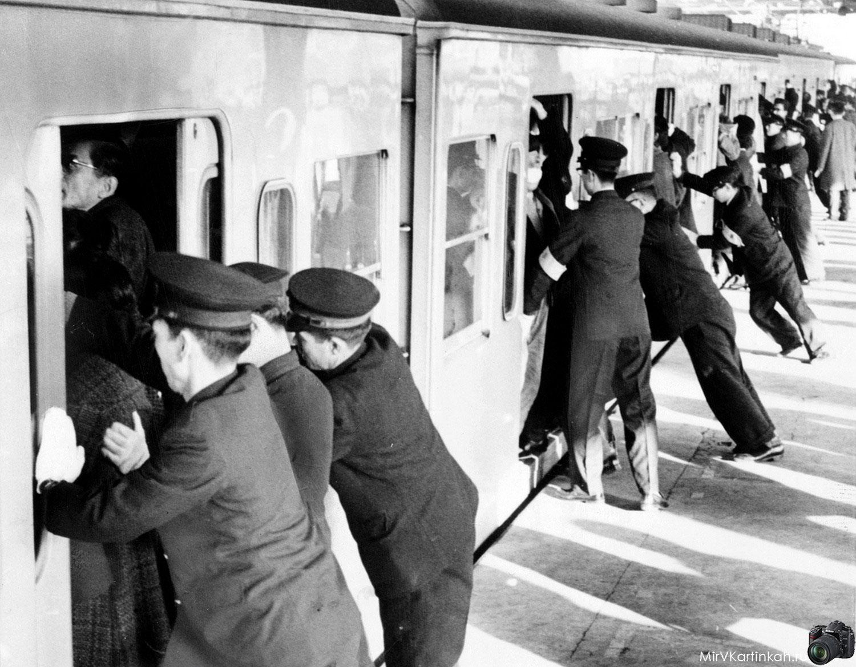 час-пик в метро