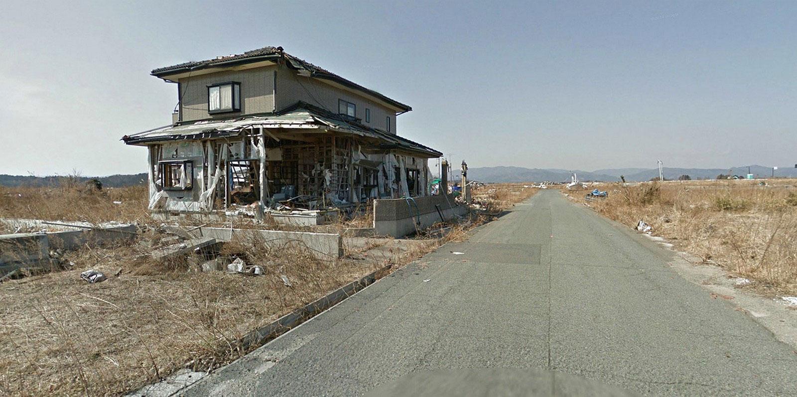 жилой дом, фото руин